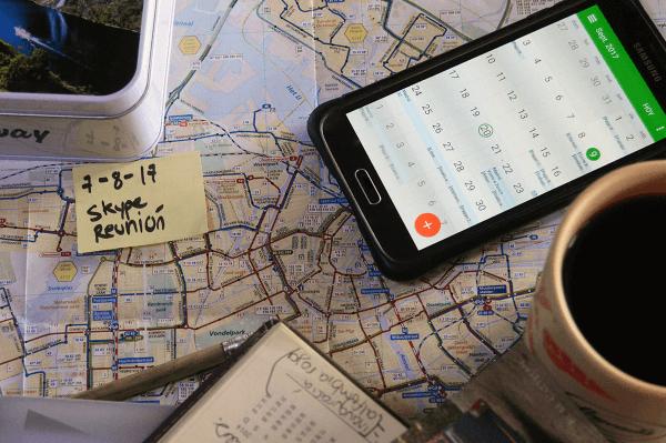 Consejos para trabajar y viajar al mismo tiempo